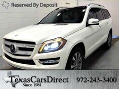 2014 Mercedes-Benz GL-Class GL350 DIESEL SPORT 4MATIC Dallas TX