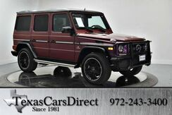 2015 Mercedes-Benz G-Class G63 AMG PERFORMANCE STUDIO 4MATIC Dallas TX