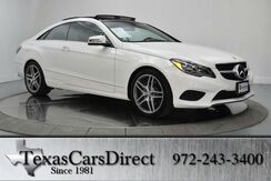 2015 Mercedes-Benz E-Class E400 COUPE SPORT Dallas TX