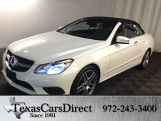 2015 Mercedes-Benz E-Class E400 CONVERTIBLE AMG SPORT Dallas TX