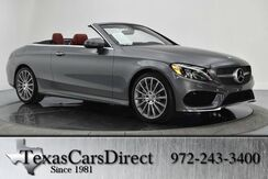 2017 Mercedes-Benz C-Class C300 CONVERTIBLE PREMIUM II SPORT Dallas TX