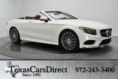 2017 Mercedes-Benz S-Class S550 CONVERTIBLE SPORT Dallas TX