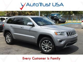 Jeep Grand Cherokee Limited Leather Power Seats Backup Cam Mp3 Bluetooth 2014