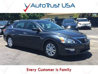 Nissan Altima 2.5 S 1 Owner Low Miles Power Seats Mp3 Bluetooth Off Lease 2014