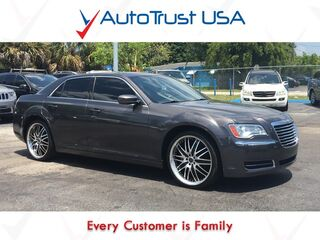 Chrysler 300 Clean Carfax Leather Backup Cam Factory Warranty Rims 2014