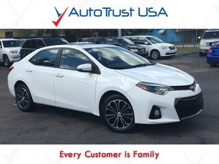 Toyota Corolla S Plus Leather Sunroof Backup Cam Sport Rims Manual Trans 2014