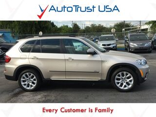 BMW X5 xDrive35i Prem Nav Pano Roof Backup Cam 1 Owner Clean Cfax Loade 2013