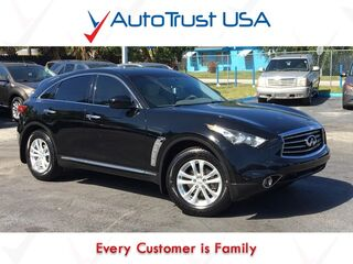 INFINITI FX37 Clean Carfax Sunroof Backup Cam Leather Heat Pkg Mp3 Bluetooth 2013