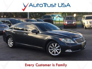 Lexus LS 460 Nav Sunroof Backup Camera Low Miles Fully Loaded 2008