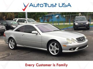 Mercedes-Benz CL-Class 5.0L AMG Pkg Leather Sunroof Low Miles Fully Loaded 2006