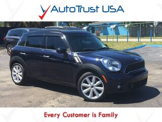 MINI Cooper Countryman S Leather Pano Roof Mp3 Bluetooth 2011