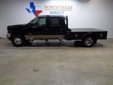 Ford Super Duty F-350 Lariat 4WD Diesel Crew Leather CM Flatbed Sunroof New Tires 2004