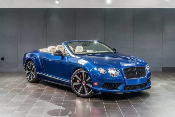 2015 Bentley Continental GT V8 S Convertible 2dr Convertible Beverly Hills CA