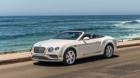 2017 Bentley Continental GT V8 2dr Convertible Beverly Hills CA