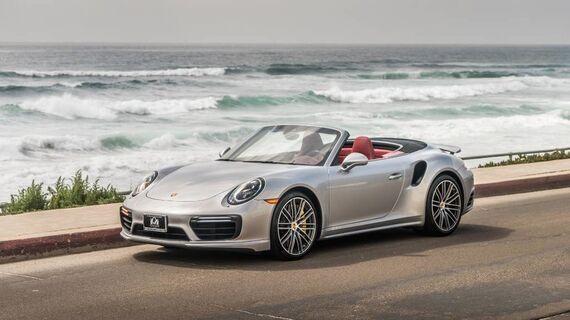2017 Porsche 911 Turbo S Cabriolet Turbo S Beverly Hills CA