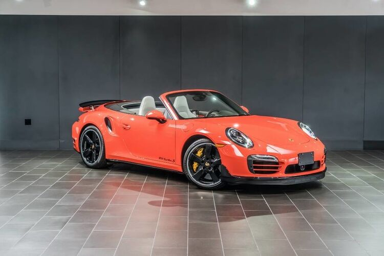 2016 Porsche 911 Turbo 2dr Convertible Beverly Hills CA