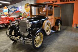 Ford Model A Huckster Woodie 1929