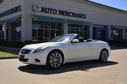 Infiniti G Convertible G37 Sport NAV, HTD/COOLED STS, BLUETOOTH, BACKUP CAM, BOSE STEREO, LEATHER, CRUISE CONTROL 2009