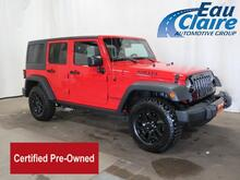 2016 Jeep Wrangler Unlimited 4WD 4dr Willys Wheeler Eau Claire WI