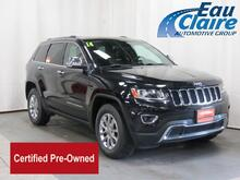 2014 Jeep Grand Cherokee 4WD 4dr Limited Eau Claire WI