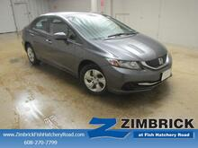 2014 Honda Civic 4dr CVT LX Madison WI