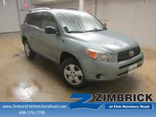 2008 Toyota RAV4 4WD 4dr 4-cyl 4-Spd AT Madison WI