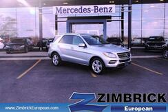 2014 Mercedes-Benz M-Class 4MATIC 4dr ML350 Madison WI