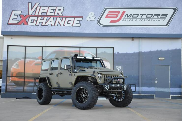 2017 Jeep Wrangler Unlimited KEVLAR ARMY TACTICAL SPORT Tomball TX