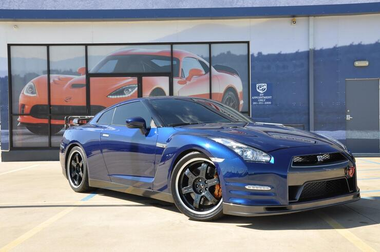 2014 nissan gt r stage 1 performance track edition with mods tx 17130479. Black Bedroom Furniture Sets. Home Design Ideas