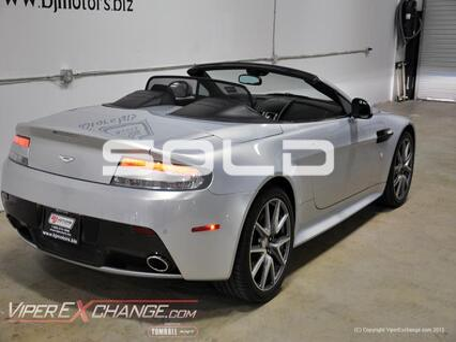 2011 Aston Martin V8 Vantage S  Tomball TX