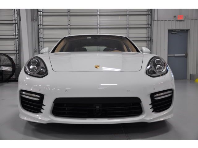 2014 porsche panamera turbo s executive tomball tx - Porsche Panamera Turbo 2014 White