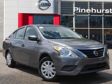 2017 Nissan Versa Sedan S Manual Southern Pines NC