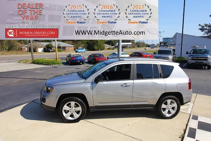 2016 Jeep Compass 4WD 4d Wagon Sport Outer Banks  NC