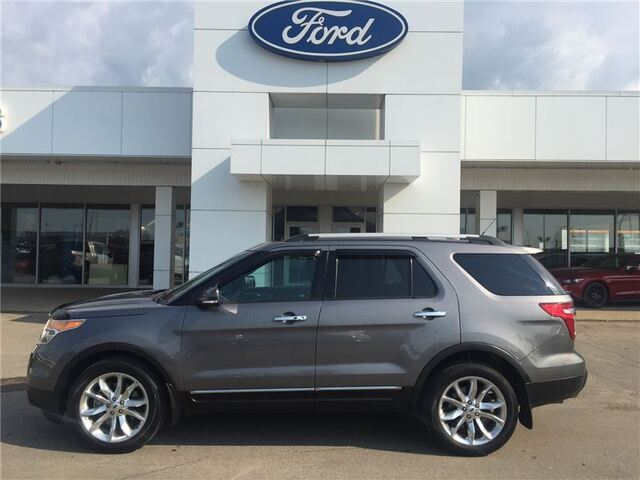 2014 Ford Explorer LIMITED 4X4 FULLY LOADED 43900KM Edmonton AB