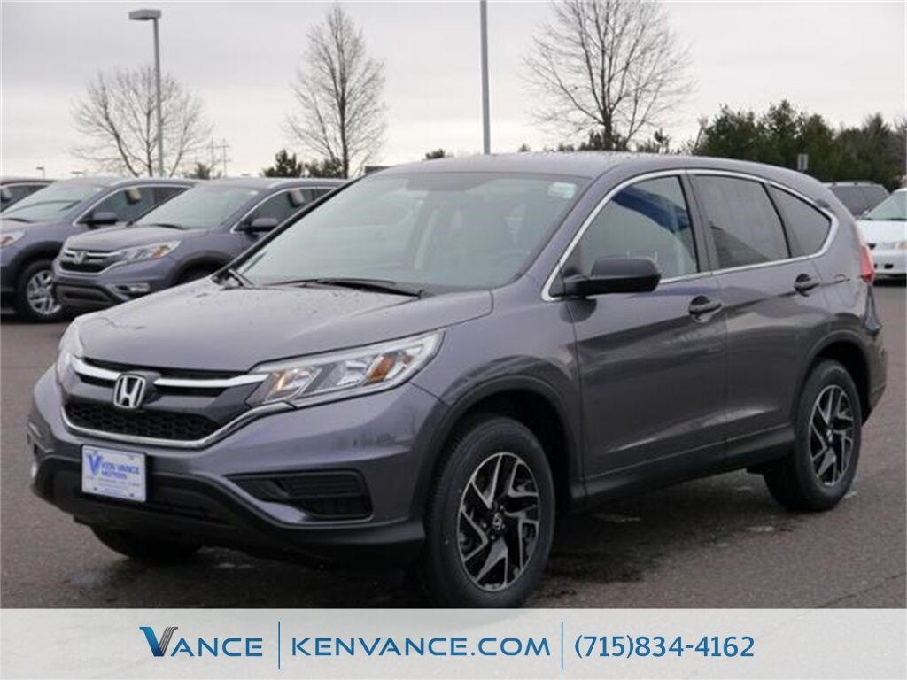 2016 honda cr v se eau claire wi 11536282 for 2016 honda cr v se