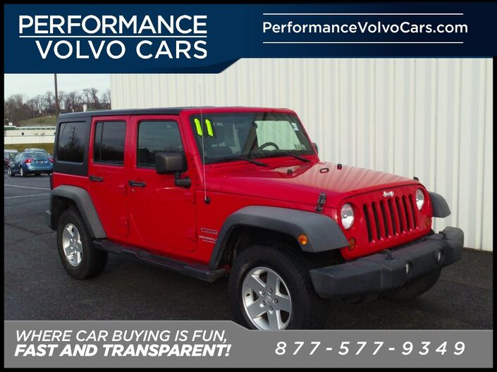 2011 Jeep Wrangler Unlimited Sport Sinking Spring PA