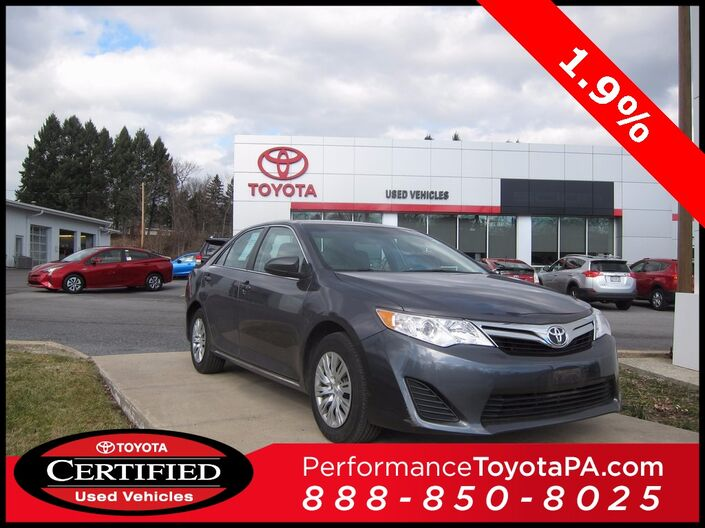 2014 Toyota Camry LE Sinking Spring PA