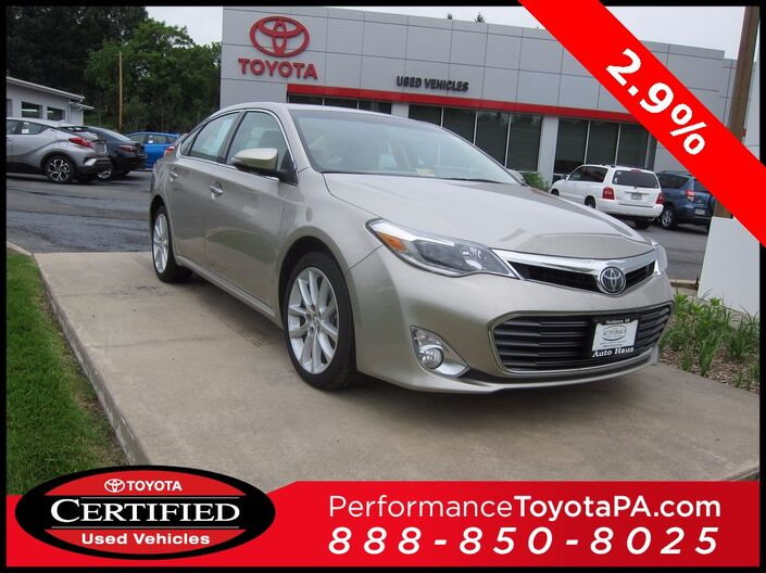 2015 Toyota Avalon Limited Sinking Spring PA