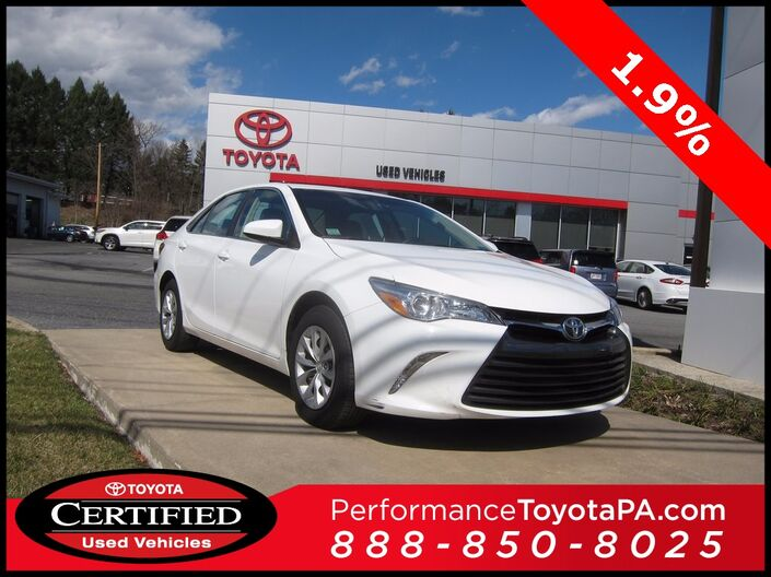 2016 Toyota Camry LE Sinking Spring PA