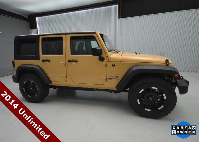 2014 Jeep Wrangler Unlimited Sport San Antonio TX