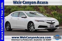 2017 Acura TLX 2.4 8-DCT P-AWS with Technology Package Anaheim CA