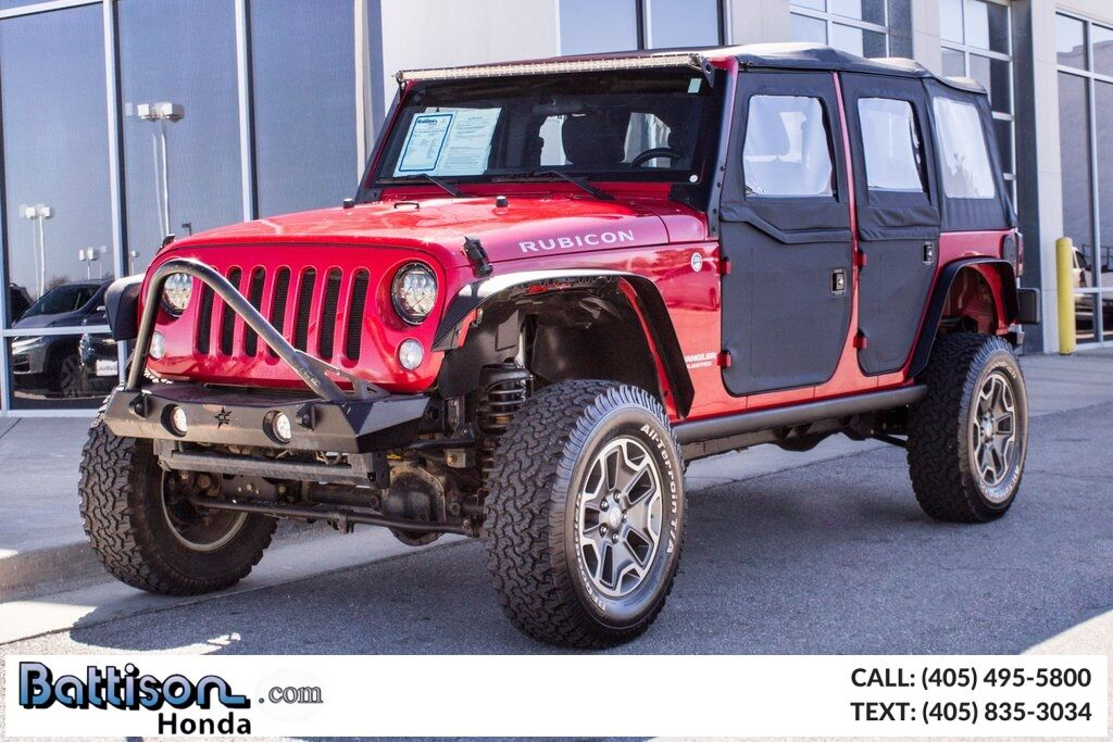 2011 Jeep Wrangler Unlimited Rubicon Oklahoma City OK