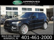 2015 Land Rover Range Rover Sport 5.0L V8 Supercharged Warwick RI