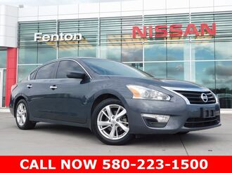 2013 Nissan Altima CARFAX One Owner Vehicle Ardmore OK