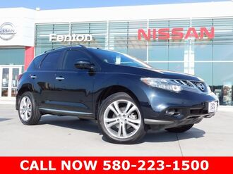 2014 Nissan Murano Platinum Edition Package Nissan Certified Pre-Owne Ardmore OK