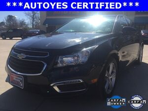 2015 Chevrolet Cruze 2LTNew Price CARFAX 1-OWNER CLEAN CAR FAX KEYLESS ENTRY AUTO