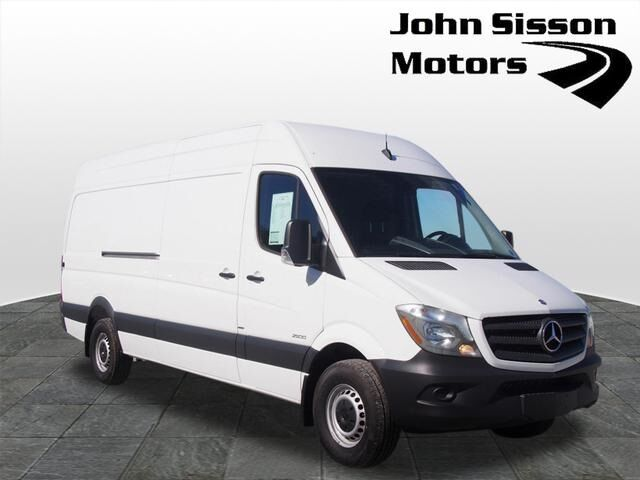 2015 mercedes benz sprinter 2500 cargo 170 wb washington for John sisson mercedes benz