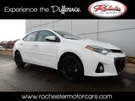 2016 Toyota Corolla S Special Edition Nav Bluetooth Backup Cam Sunroof Heated Seats Rochester MN