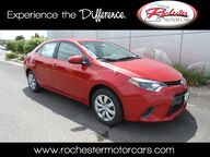 2016 Toyota Corolla LE Customized Bluetooth Backup Camera Rochester MN
