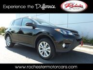 2014 Toyota RAV4 Limited AWD Nav Leather Sunroof Backup Cam Bluetooth Rochester MN